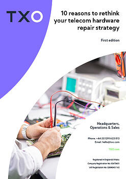 10 reasons to rethink your telecom hardware repair strategy